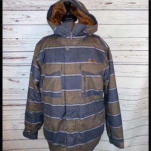 Burton Men's Dryride Ski Snowboard Coat SZ Medium